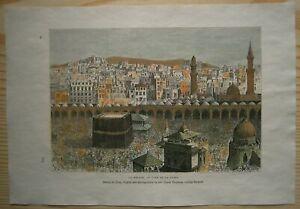 1884-Reclus-print-KAABA-MECCA-SAUDI-ARABIA-84