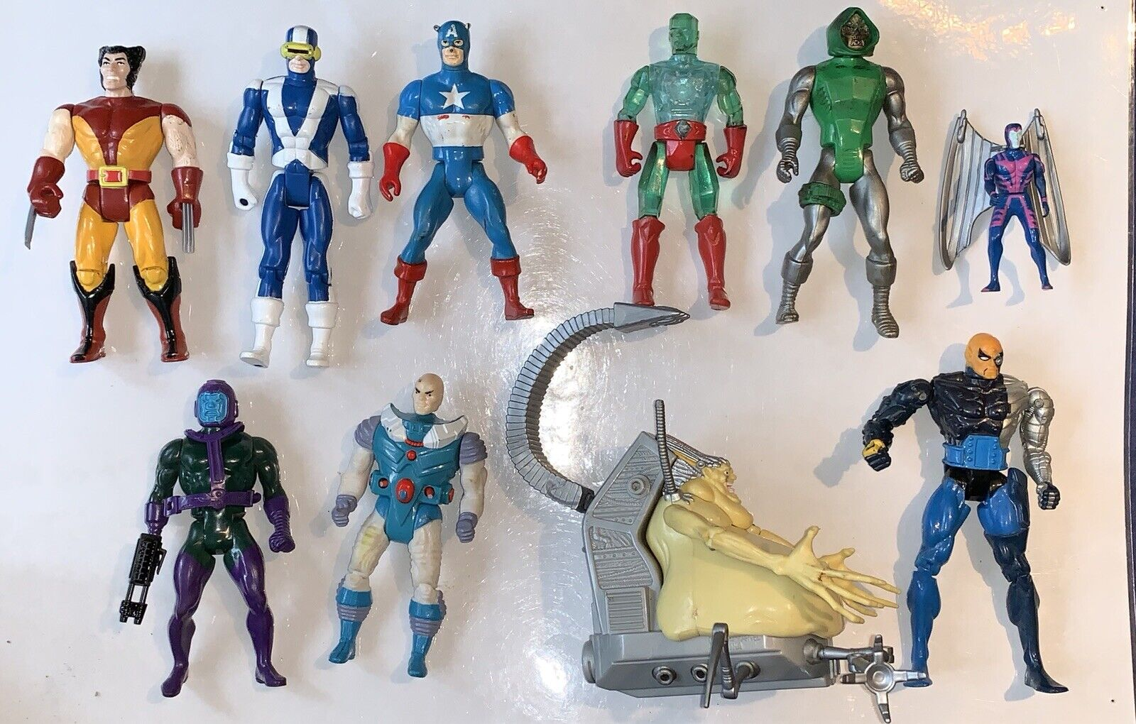 Vintage Kenner Marvel Lot 19801990s azione cifras