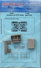 Aires 1/48  Junkers Ju87B Stuka Gun Bay for Hasegawa kit # 4306