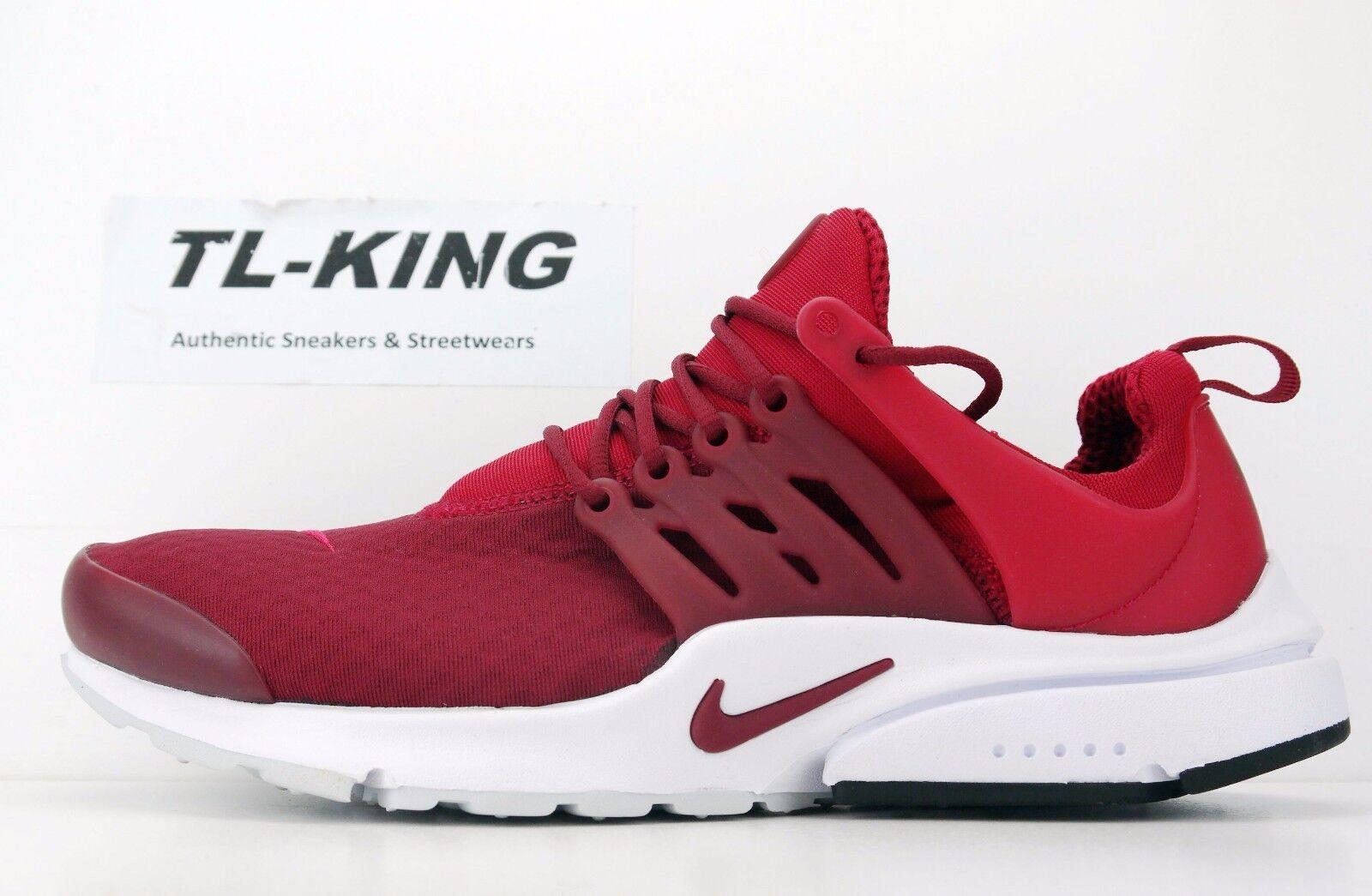 Nike Air Presto Essential Mens 848187-604 Gym Team Red Running Shoes ... e651b6c81