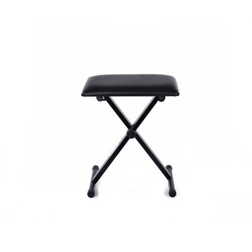 Professional Piano Stool Keyboard Bench Adjustable Foldable Padded Seat Cushion