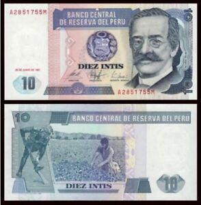 Peru-10-Intis-1987-UNC-10-1987-A4801476M