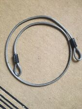 85DPF Long 4 ft Steel Cable With Looped Ends Master Lock Cable