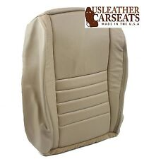 02 03 04 Ford Mustang GT V8 Convertible Passenger Bottom Leather Seat Cover Tan