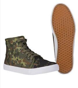 Army-Sneaker-High-Top-flecktarn-Tarn-Turnschuhe-Camo-Sneaker