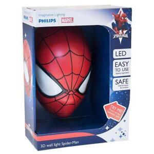 Philips-LED-Luz-de-Pared-3D-Marvel-Spiderman-Personaje-Dormitorio-Luz-Deco