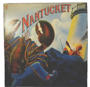 Near-Mint-NANTUCKET-White-Label-PROMO-1978-Complete-Promotional-Picture-amp-Poster