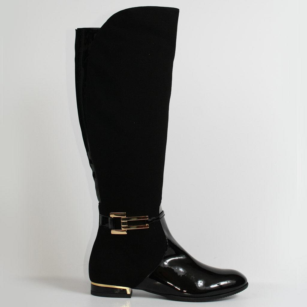Señora botas piel botines botas Business nuevo negro 37 zapatos