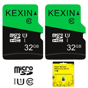 2-Pack-32GB-Micro-SD-TF-Card-SDHC-Class-10-Flash-Memory-TF-Card-For-Phone-Camera