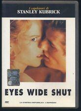 EYES WIDE SHUT - Stanley Kubrick - DVD edicola