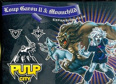 Pulp City 1 Boite Loup Garou 2 & Moonchild
