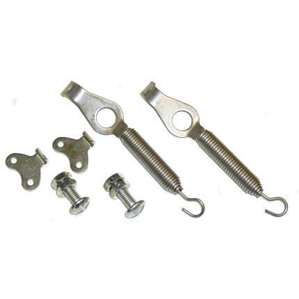 Silver Bonnet / Boot Springs Pins For Race/Rally/Kit Car/Motorsport/Competition