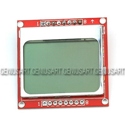 LCD Modulo Retroilluminazione Display Schermo 84x48 per Arduino PIC Nokia 5110