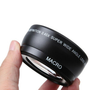 New-Durable-0-45X-58mm-Auto-Focus-Wide-Angle-Lens-For-Canon-550D-400D-450D-500D