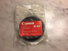 Canon B-62mm Front Push-On Lens Cap for FD 35-70 & 28-55 Zoom Lenses