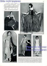 Gesellschaftskleid 1 S. Fotoabb. 1929 Mode 20er Jahre Abendkleid Herzog Elben -