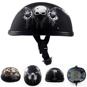 fantastic neu braincap halbschale motorrad helm chopper. Black Bedroom Furniture Sets. Home Design Ideas