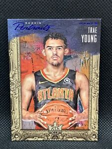 2018-Panini-Court-Kings-Rookie-Portraits-Trae-Young-Sapphire-25-HOT