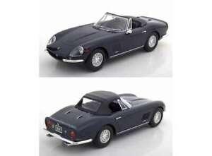 Jantes en alliage Ferrari 275 Gts / 4 Nart Spyder 1967 Échelle de modèle KK au 1/18 noir