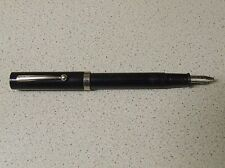 Vintage Black Sheaffer No-Nonsense Fountain Pen - Italic Broad (B) Nib Unit