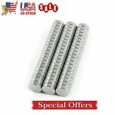 50100 Neodymium Magnets Round Disc N35 Super Strong Rare Earth 6mm X 3mm Fridge