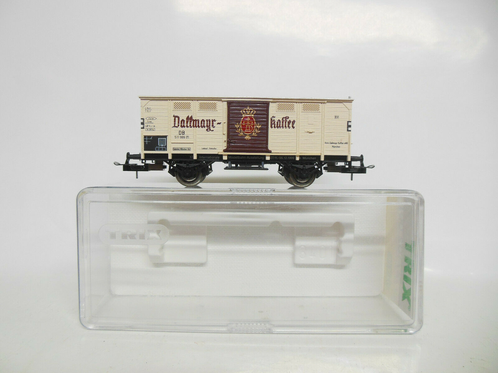 Trix 27102 .001 K-Wagons  Dallmayr Coffee  of the DB AC axes  - Top-OVP