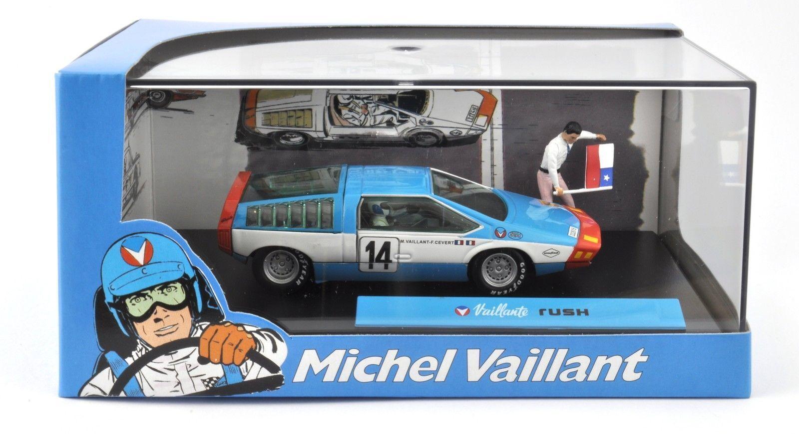 Michel Vaillant Le Mans RUSH - 1 43 IXO ALTAYA VOITURE DIECAST MODEL V16
