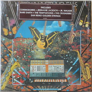 Motown-Instrumentals-LP-Commodores-RARE-EARTH-Temptations-Nice-Modular-Synth-pic
