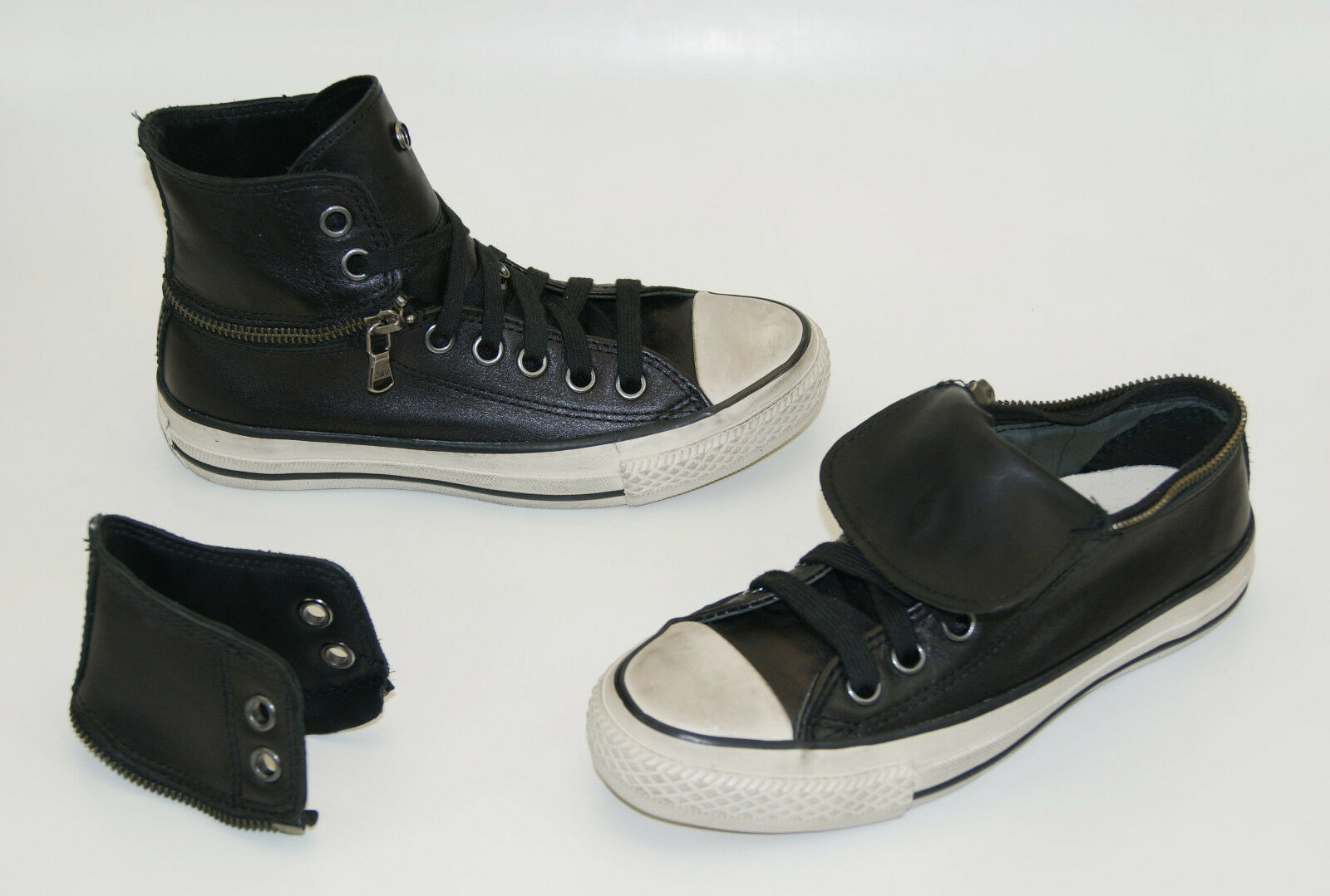 Converse John Varvatos Zip Hi Boots Size 35 US 5 Sneakers Chucks Limited Edition