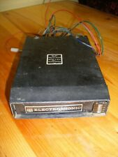 Vtg 12 Volt Car Electrophonic 8 Track Player Free Usa Shipping