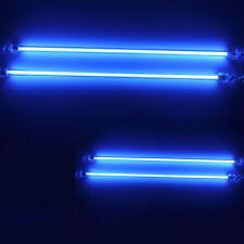 "4 Piece Car Blue Undercar Underbody Neon Kit Lights CCFL Cold Cathode 6"" + 12"""