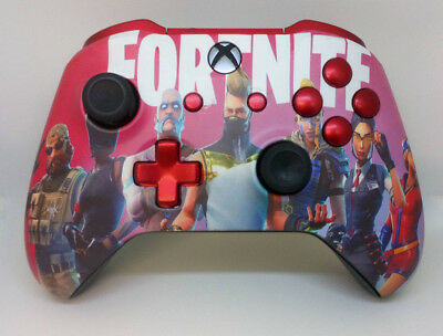 Custom Xbox One Controller Fortnite Season 5 Matte Finish Ebay