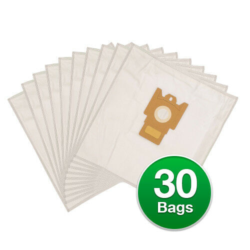 Replacement Type G//N Poly Wrapper Vacuum Bags For Miele S400i S499i 6 Pack