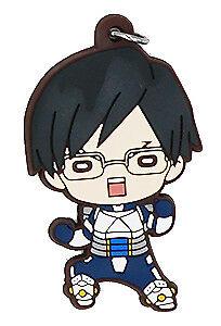 My Hero Academia Anime Hero Uniform Rubber Strap Charm Keychain