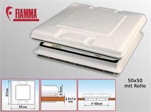 FIAMMA-Dachfenster-Dachluke-VENT-50-x-50-weiss-Wohnwagen-Caravan-z-b-Hymer