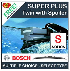 BOSCH SPOILER TWIN FRONT WINDSCREEN WIPERS - SPECIFIC CAR FITMENT (SPOILER TYPE)