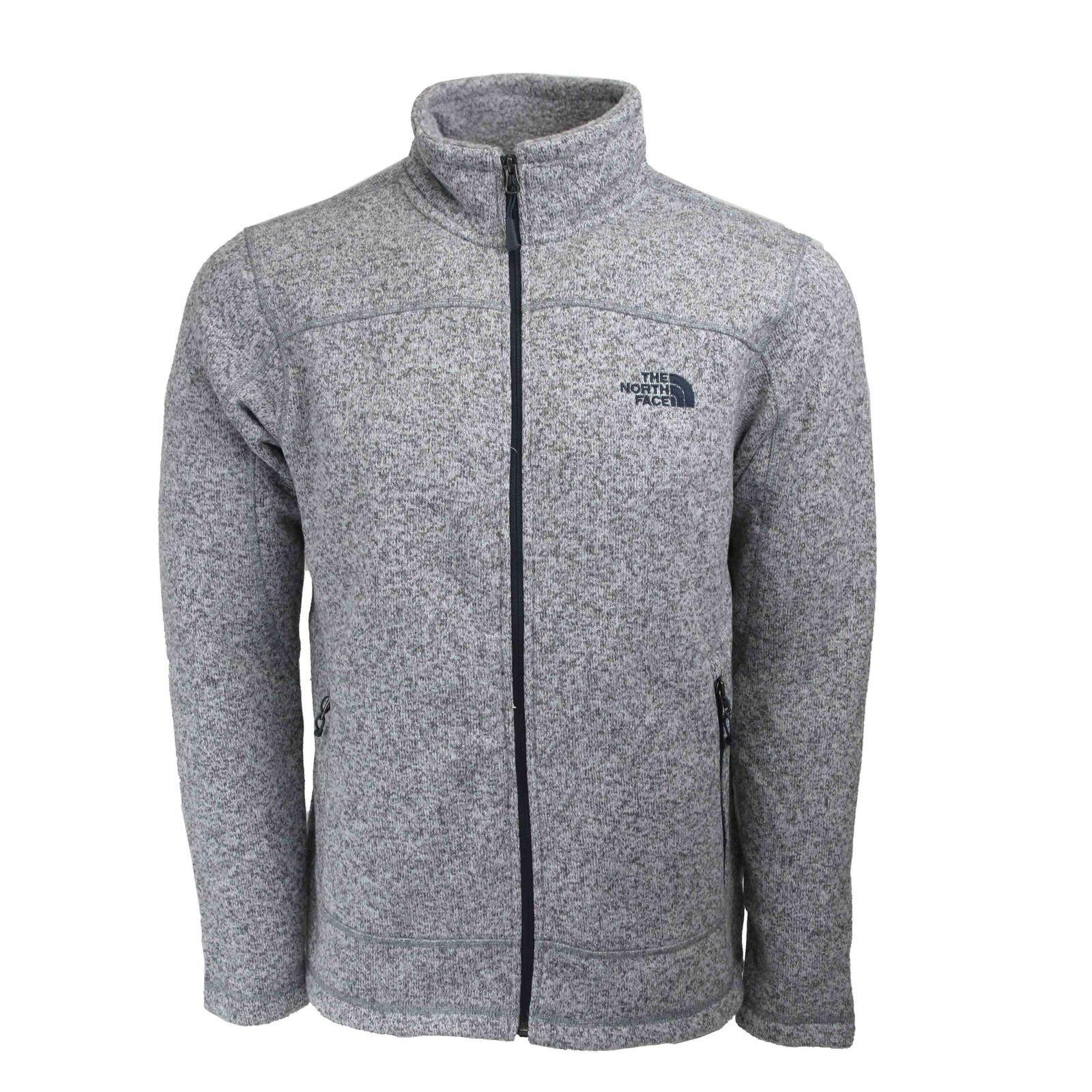 The North Face Leo Full Zip Sweater (XL) Hi Rise Grau Heather