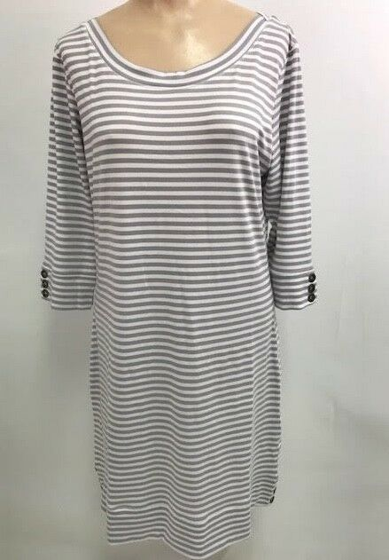 Simply Noelle Women's Stripe Stitch Dress