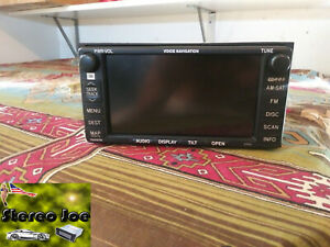 Toyota-Camry-Factory-Navigation-JBL-OEM-Stereo-86120-06160-Excellent