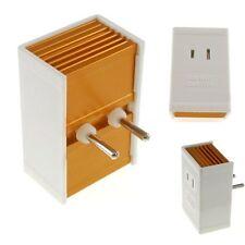 International Voltage Converter 220V to 110V 1600 Watt. Use US appliances overse