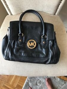 0433ec4cdfe7 Image is loading used-michael-kors-bag-black-great-condition