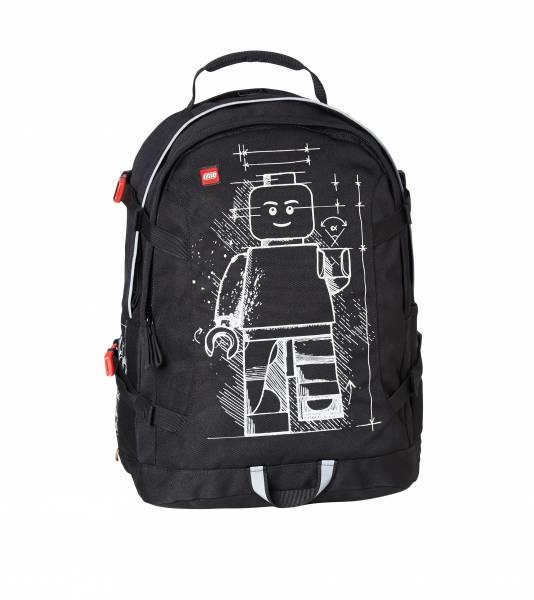 LEGO Schulrucksack Lego Tech Teen Bag mit mit mit Minifigur - Aufdruck  Schulranzen ABC 3fe0a1
