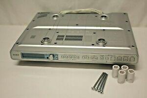 Sony Under Cabinet Kitchen CD Player Clock Radio ICF ...