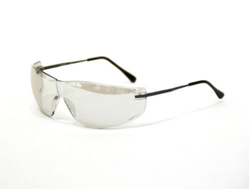 Scheibenfarbe in Hellrauchgrau Arbeitsschutzbrille PEARL Leicht verspiegelt