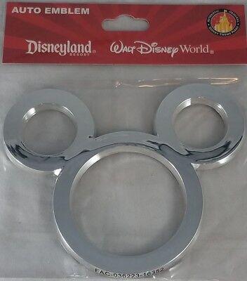 Disney Parks Mouse Ears Auto Emblem Adhesive Decal Car Vehicle Decoration -  NEW | eBay