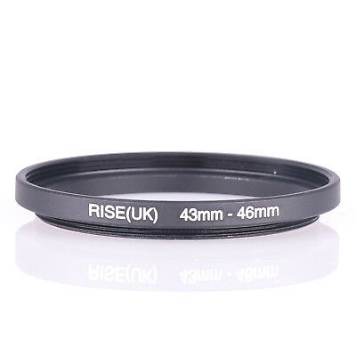 Phot-R 43-46mm Metal Stepping Up Ring 43mm-46mm 43-46 Step-Up Ring Adapter