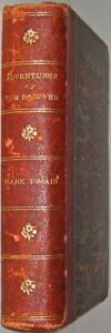 LEATHER-THE-ADVENTURES-OF-TOM-SAWYER-1903-ANTIQUARIAN-LEATHERBOUND-Mark-Twain