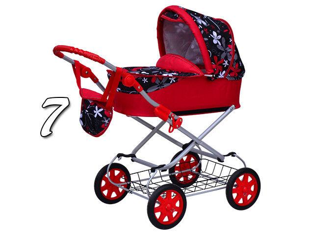 (Nr.0ga7) Wunderschöner Puppenwagen für Puppeneltern Neu