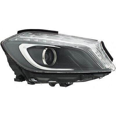 HELLA Halogen Headlight Nearside RHD Fits MERCEDES A Class W176 Hatchback 2012