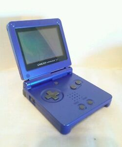 Nintendo-Gameboy-Advance-SP-Console-REFURBISHED-LIKE-NEW-Purple-Warranty
